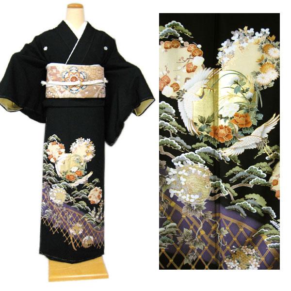 鶴に花丸と松 (ゆったりサイズ)