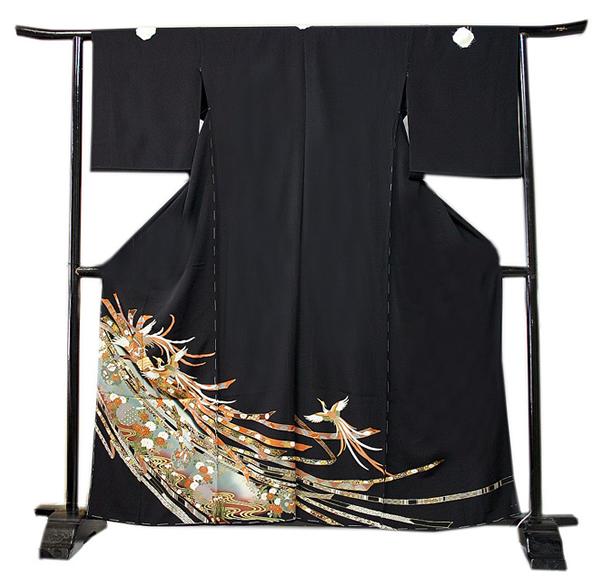 熨斗に鳳凰と雪輪(小柄な人対応) (身長150センチメートル迄の方)